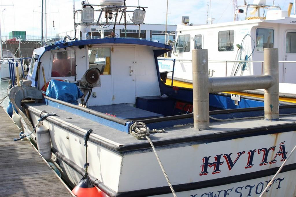 hvita fishing boat lowestoft