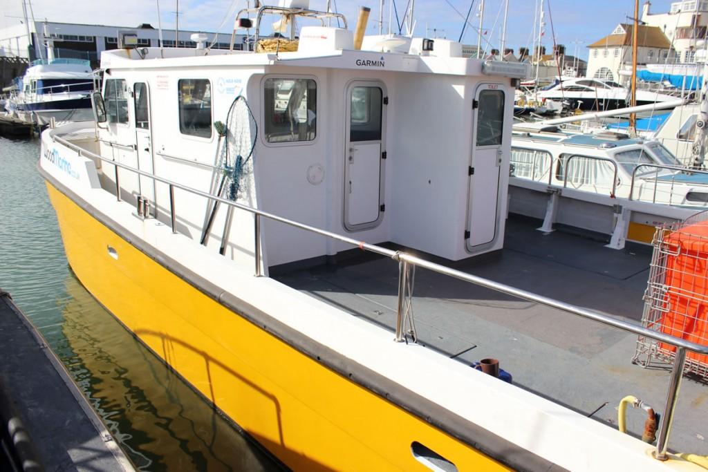 Pioneer Fishing Boat Lowestoft
